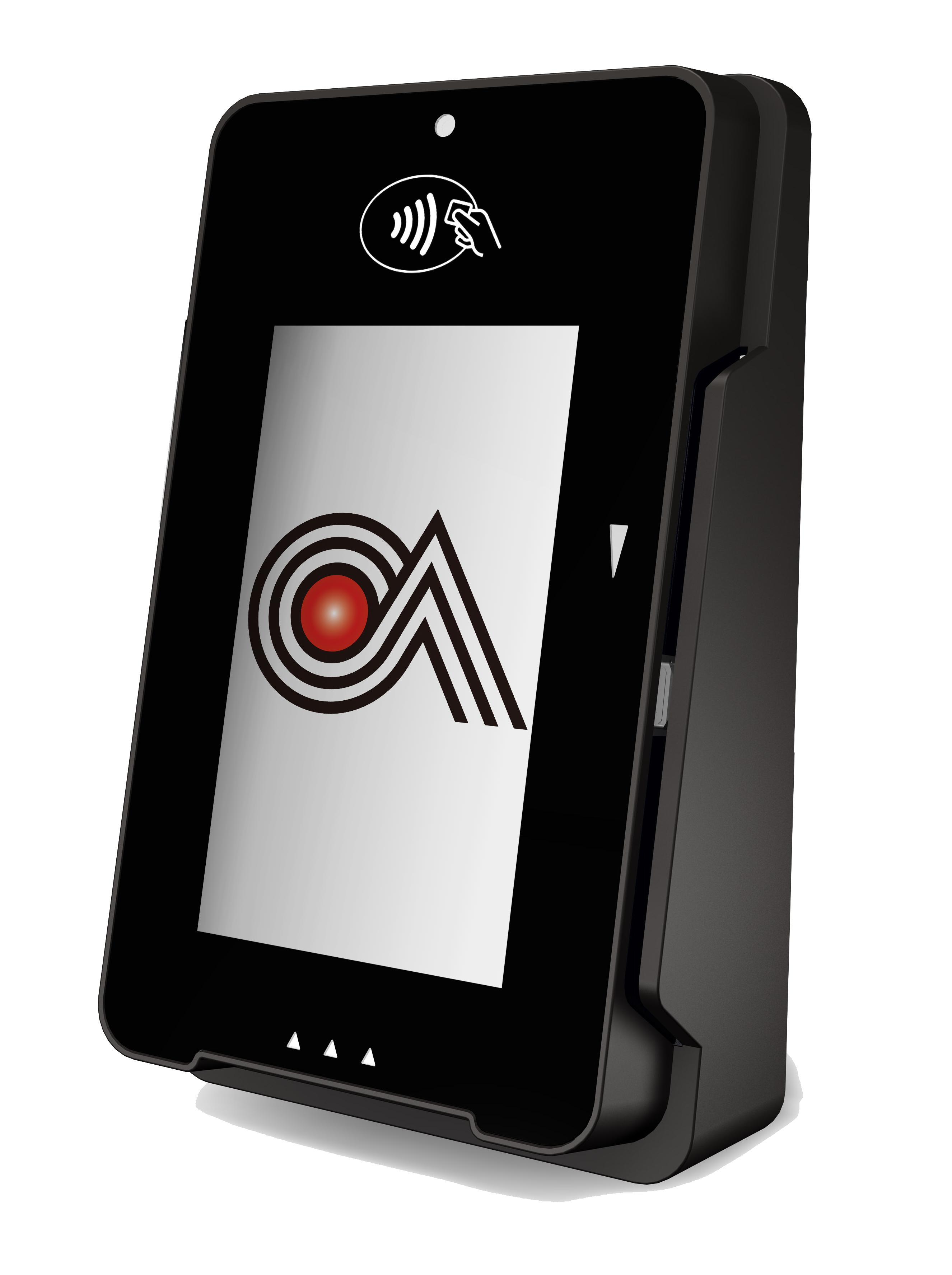 Castle Technologies' mPOS terminal device with their logo