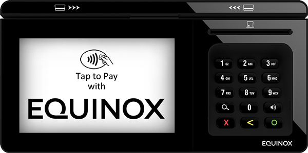 Equinox tap to pay device